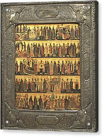 Calendar Of Saints And Festivals Acrylic Print