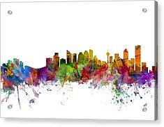 Calgary Canada Skyline Acrylic Print