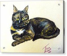 Fifi Girl Acrylic Print