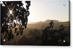 Acrylic Print featuring the photograph Cali Sun Set by Shawn Marlow