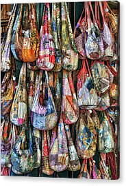 Calico Bags Acrylic Print by Brenda Bryant