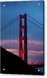 California A Top Global Tourist Acrylic Print by George Rose