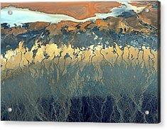 California Aerial Acrylic Print