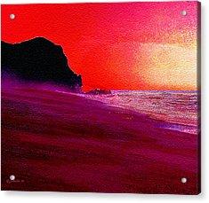 California Beaches Acrylic Print