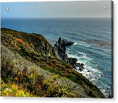 California - Big Sur 005 Acrylic Print by Lance Vaughn