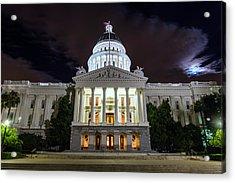 California Capitol Acrylic Print
