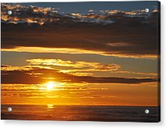 Acrylic Print featuring the photograph California Central Coast Sunset by Kyle Hanson
