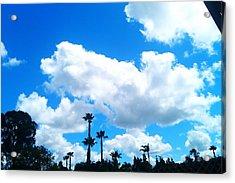 California Clouds Acrylic Print by Susan Mumma