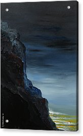 California Coastal Evening Acrylic Print