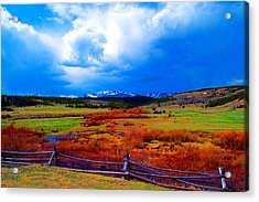 Acrylic Print featuring the photograph California Creek Homestead by Kevin Bone