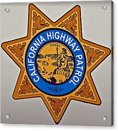 California Highway Patrol Acrylic Print