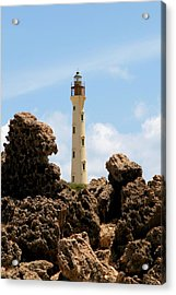 California Lighthouse Aruba Acrylic Print