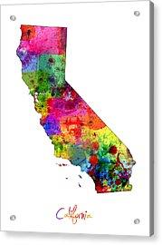 California Map Acrylic Print