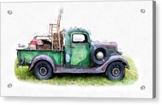 California Or Bust II Acrylic Print