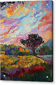California Sky Quadtych - Lower Right Panel Acrylic Print