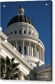 California State Capitol Dome Acrylic Print by James B Toy