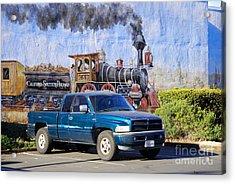 California Steamin' Acrylic Print by Andrea Simon