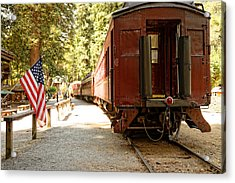 California Western Railroad Acrylic Print