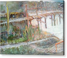 Call Of The Bridge Acrylic Print