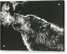 Call Of The Wild Acrylic Print by Beth Hoselton