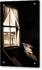 Acrylic Print featuring the photograph Call To Worship by Jim Garrison