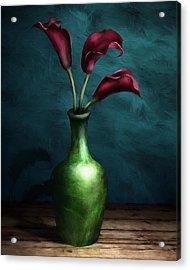Calla Lilies I Acrylic Print