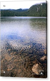 Callaghan Lake Stones Acrylic Print by Amanda Holmes Tzafrir