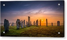 Callanish Dawn Acrylic Print