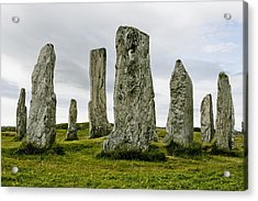 Callanish Standing Stones Acrylic Print by Toby Adamson