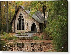 Callaway Chapel Acrylic Print by Mountains to the Sea Photo