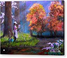 Callaway Garden Artist Acrylic Print