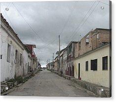 Calle Cubana Acrylic Print