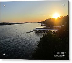 Calling It A Day Acrylic Print by Fiona Kennard