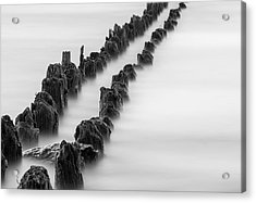 Calm Across The River Acrylic Print by Kunal Mehra