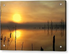 Calm At Dawn Acrylic Print
