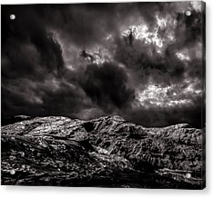 Calm Before The Storm Acrylic Print by Bob Orsillo