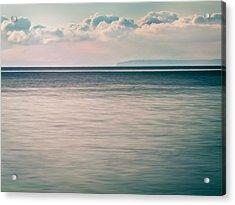 Calm Blue Ocean Acrylic Print
