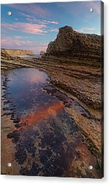 Panther Beach - Calm  Acrylic Print by Francesco Emanuele Carucci
