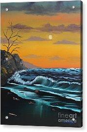 Calm Seas Acrylic Print