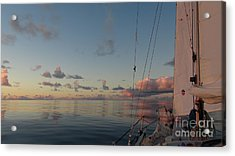 Acrylic Print featuring the photograph Calm Seas by Laura  Wong-Rose