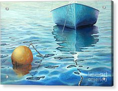 Calm Turquoise Sea Acrylic Print