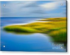 Calm Waters - A Tranquil Moments Landscape Acrylic Print by Dan Carmichael