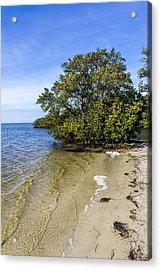 Calm Waters On The Gulf Acrylic Print