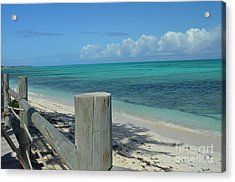 Acrylic Print featuring the photograph Calming Waters by Judy Wolinsky