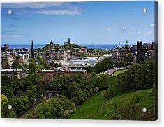 Calton Hill Acrylic Print