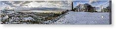 Calton Hill Panorama Acrylic Print