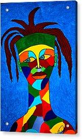 Calypso Man Acrylic Print by Chrissy Pena