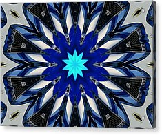 Camaro Kaleidoscope Acrylic Print by Victor Montgomery