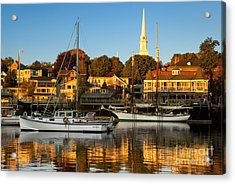 Acrylic Print featuring the photograph Camden Maine by Brian Jannsen