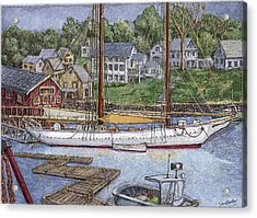 Camden Maine Acrylic Print